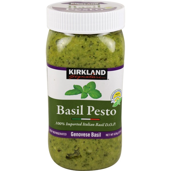 Kirkland Signature Select Basil Pesto