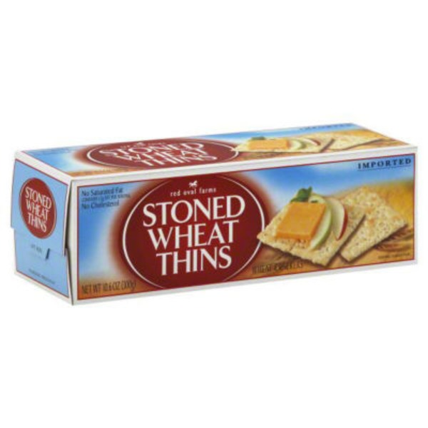 Nabisco Red Oval Farms Stoned Wheat Thins Crackers