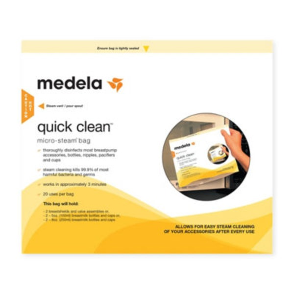 Medela Quick Clean Micro-Steam Sterilizing Bag