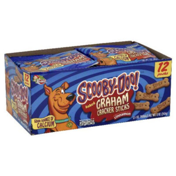 Keebler Scooby-Doo! Cinnamon Sticks Graham Crackers
