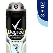 Degree Men Motionsense Dry Spray Everest Antiperspirant