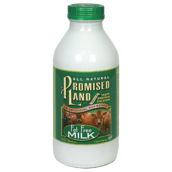 Promised Land Milk, Fat Free