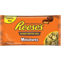 Reeses Miniature Peanut Butter Candy Cups