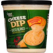 Great Value Cheese Dip Queso Blanco