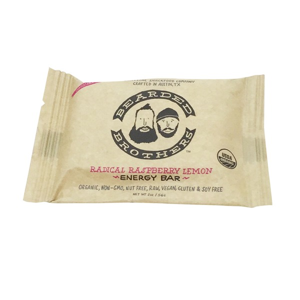 Bearded Brothers Radical Raspberry Lemon Energy Bars