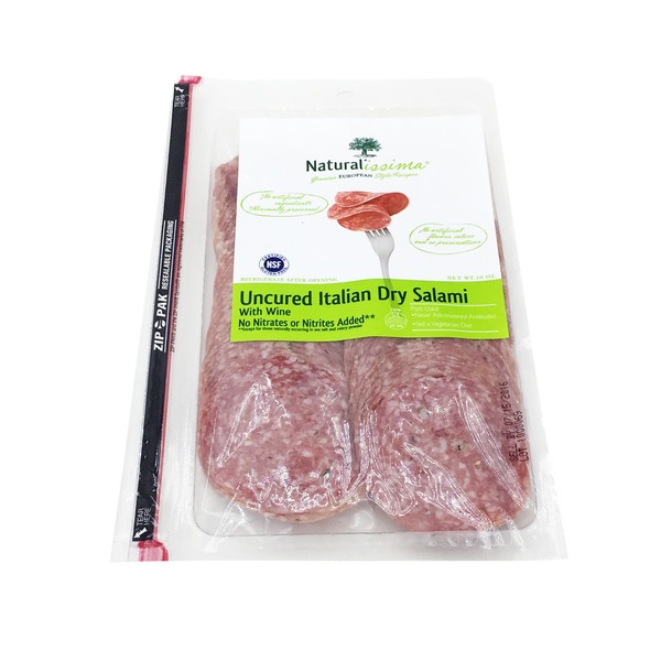Naturalissima Italian Dry Salami With Wine
