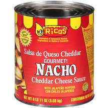 Ricos With Jalapeno Peppers Nacho Cheddar Cheese Sauce