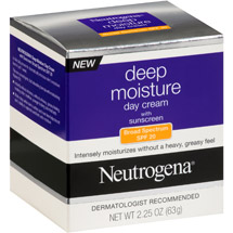 Neutrogena Deep Moisture Day Cream with Sunscreen SPF 20