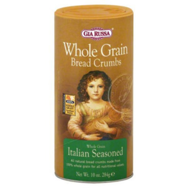 Gia Russa Italian Seasoned Whole Grain Bread Crumbs