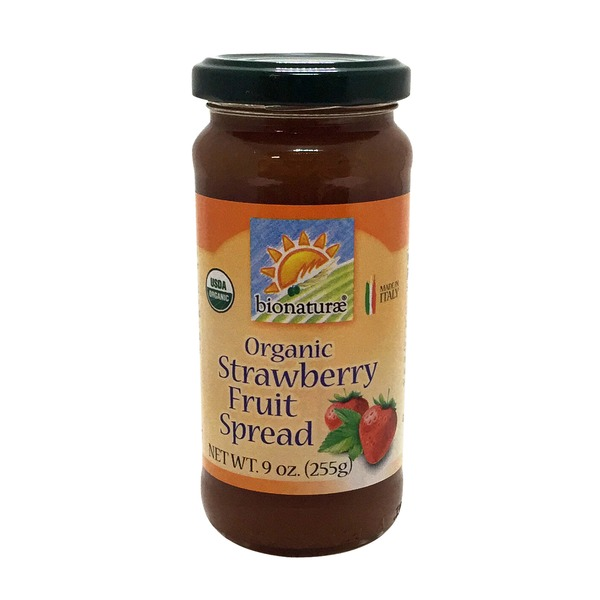 Bionature Organic Strawberry Fruit Spread