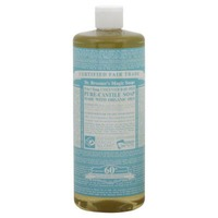 Dr. Bronner's Unscented Pure Castile Soap