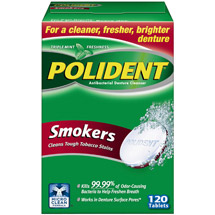Polident Smokers Denture Cleaner