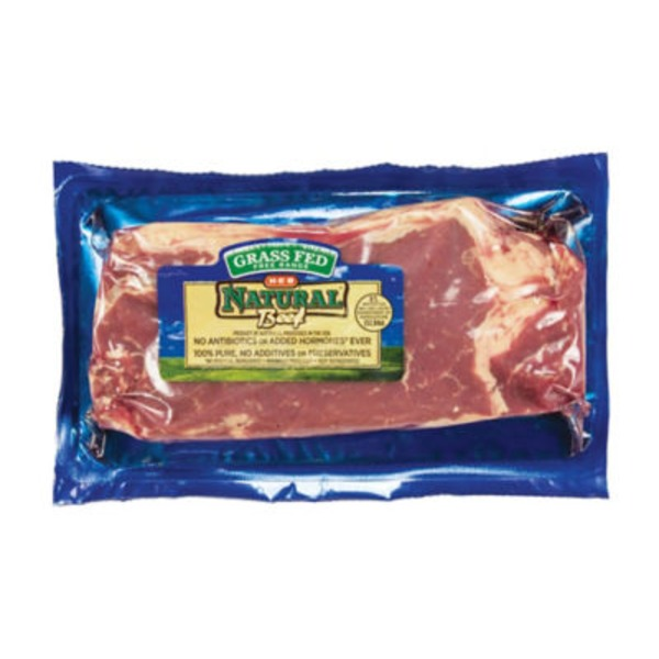 H-E-B Natural Grass Fed Boneless Strip Steak