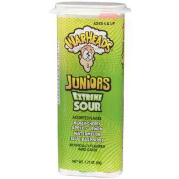 Warheads Junior Extreme Sour Candy