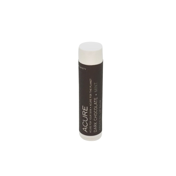 Acure Dark Chocolate + Mint Organics Lip Balm