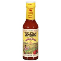 Try Me Yucatan Sunshine  Habanero Pepper Sauce