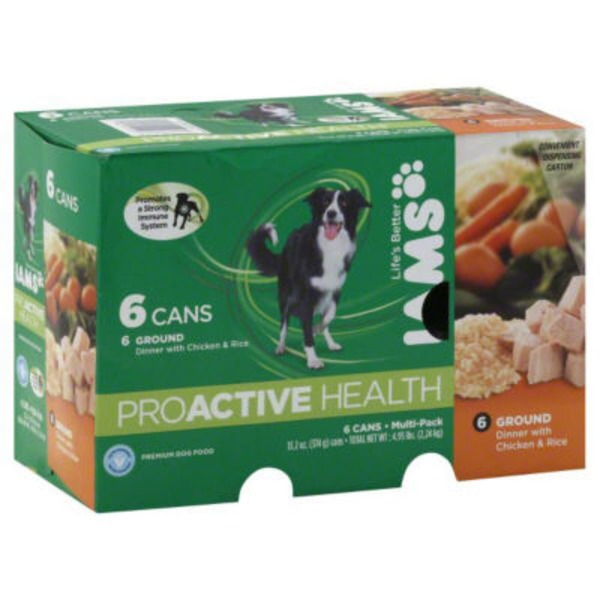 Iams Proactive Health Pâté with Chicken & Whole Grain Rice Dog Food