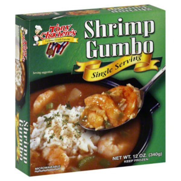 Tony Chachere's Shrimp Gumbo