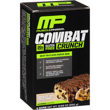 Combat Crunch Chocolate Chip Cookie Dough Baked Protein Bars