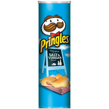Pringles Salt & Vinegar Flavored Potato Crisps