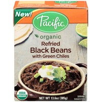 Pacific Organic Refried with Green Chiles Black Beans