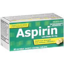 PL Developments Adult Low Strength Aspirin 81mg Coated Tablets