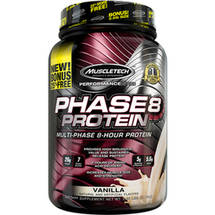 MuscleTech Performance Series Phase8 Protein Vanilla Dietary Supplement