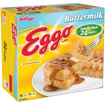 Kelloggs Eggo Buttermilk Waffles Family Pack