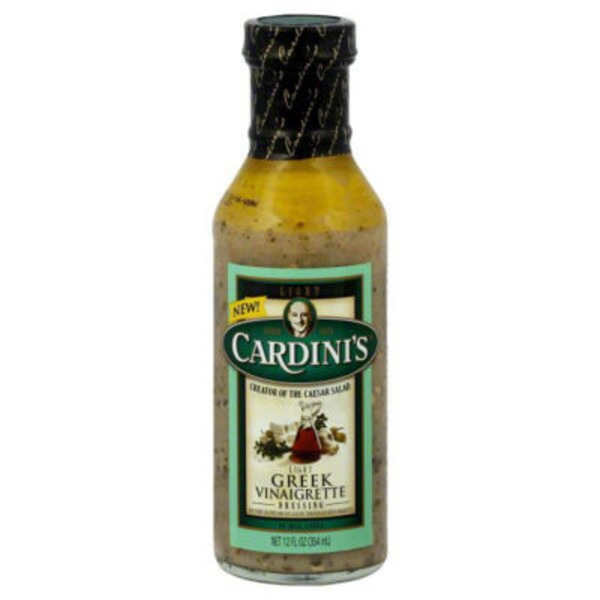 Cardini's Greek Vinaigrette Light Dressing