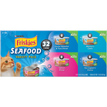 Friskies Loaf Seafood Variety Pack Cat Food