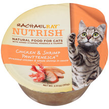 Rachael Ray Nutrish Natural Wet Chicken and Shrimp PawTasty Treasuresenesca  Cat Food
