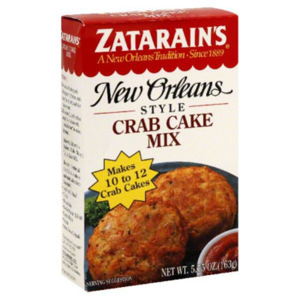Zatarain's Crab Cake Mix
