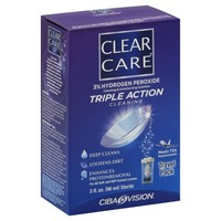 Clear Care Triple Action Cleaning Contact Lens Solution