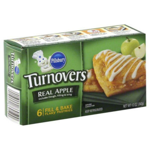 Pillsbury Flaky Apple Turnovers
