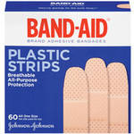 Band-Aid Comfort-Flex Plastic Adhesive Bandages Family Pack