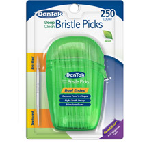 DenTek Deep Clean Bristled Dental Picks
