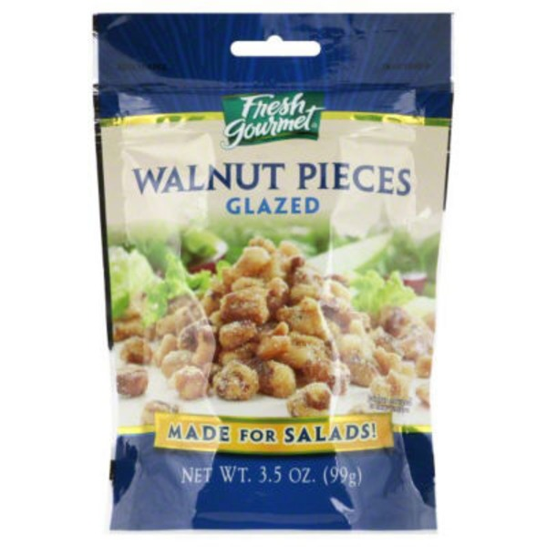 Fresh Gourmet Glazed Walnut Pieces