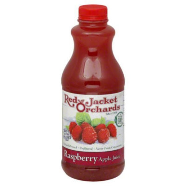 Red Jacket Orchards Raspberry Apple Juice