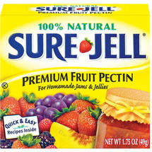Kraft Baking & Canning Sure-Jell Fruit Pectin Premium 100% Natural