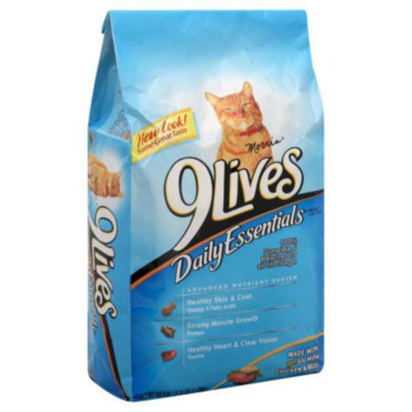 9 Lives Dry Daily Essentials Cat Food