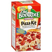 Chef Boyardee Pepperoni Pizza Kit