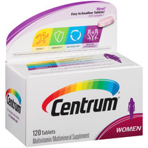 Centrum Women Multivitamin/Multimineral Supplement Tablets