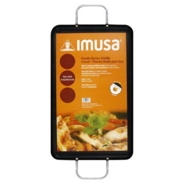 Imusa Double Burner Griddle