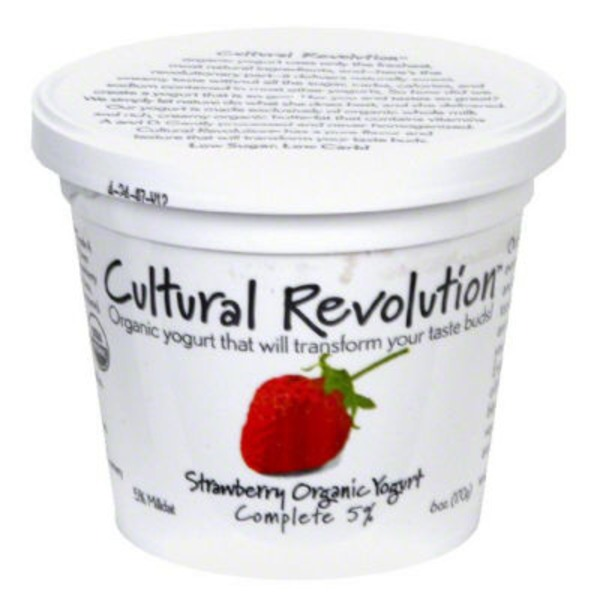 Cultural Revolution Organic Strawberry Yogurt