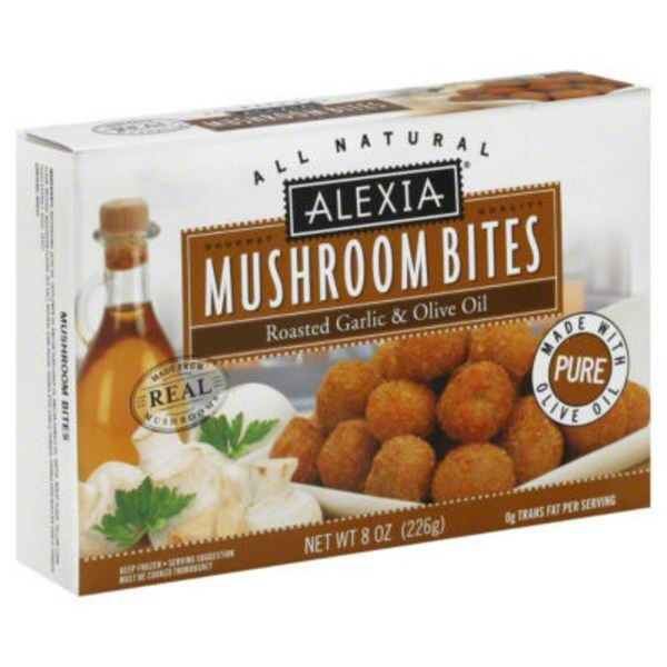 Alexia All Natural Mushroom Bites