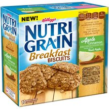 Kellogg's Nutri-Grain Apple Cinnamon Breakfast Biscuits
