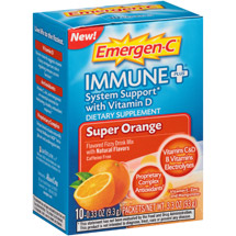 Emergen-C Immune Plus Super Orange Dietary Supplement Powder