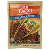 H-E-B Taco Seasoning Mix
