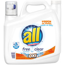 All with Stainlifters Oxi Free Clear Liquid Laundry Detergent