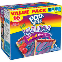 Kellogg's Pop-Tarts Wildlicious Frosted Wild! Berry Toaster Pastries